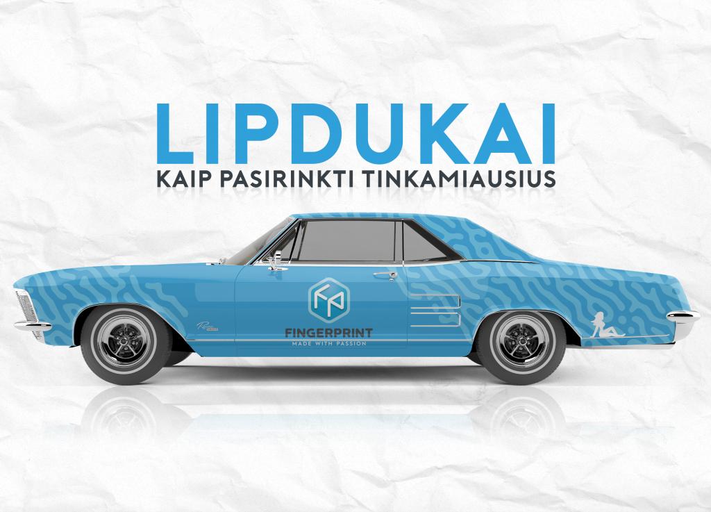 lipdukai - Fingerprint Spaustuvė Kaune
